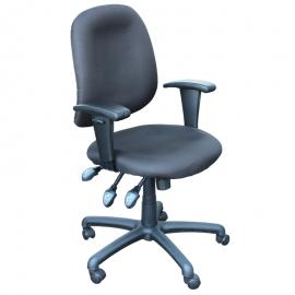 Офис стол-6099 черен