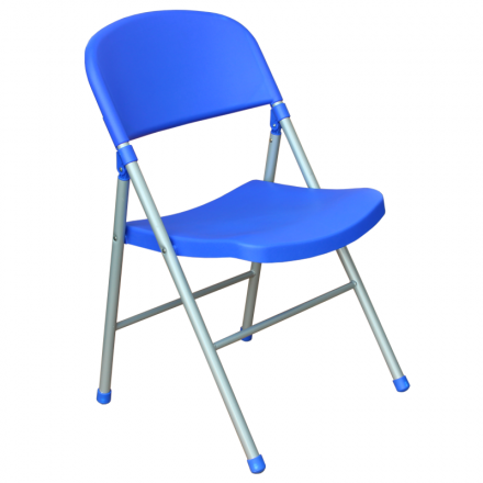 Сгъваем стол-9933 син
