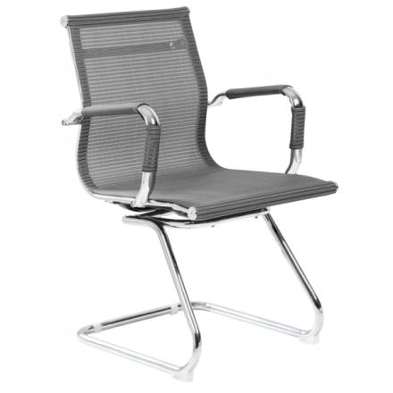 Офис стол-8802 сив