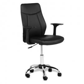 Офис стол-6045 черен