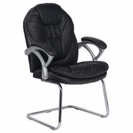 Офис стол-6041-черен