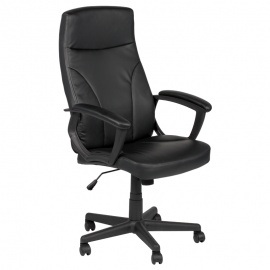 Офис стол-6048 черен