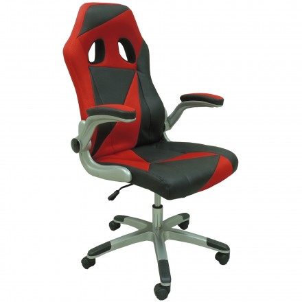 Офис стол Form – червен