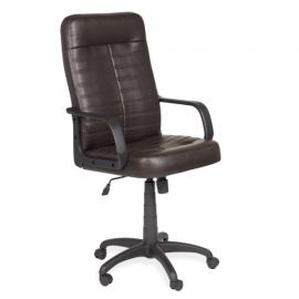 Офис стол Ledli-тъмно кафяв