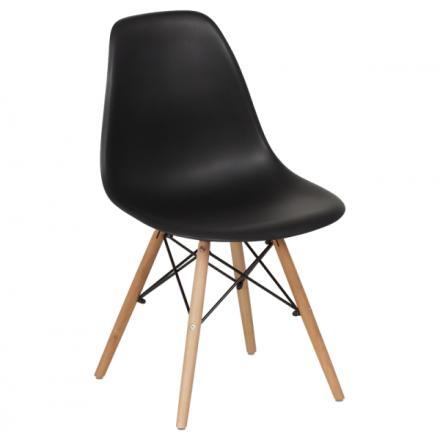 Трапезен стол-9957 черен