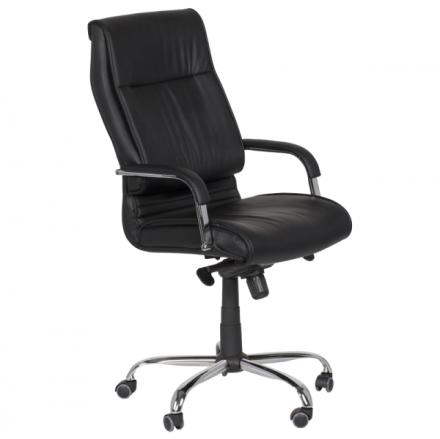 Офис стол-6502 черен