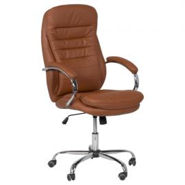 Офис стол-6113 тъмно оранжев