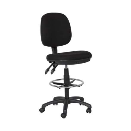 Офис стол 7551 – черен