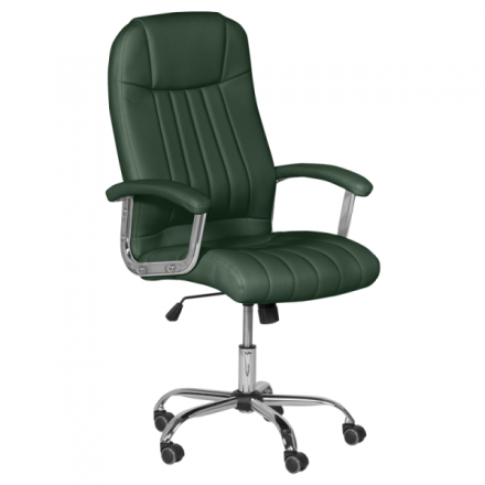 Офис стол-6181 маслено зелен