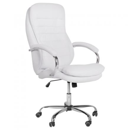 Офис стол-6113 бял