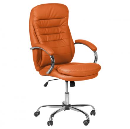 Офис стол-6113 оранжев