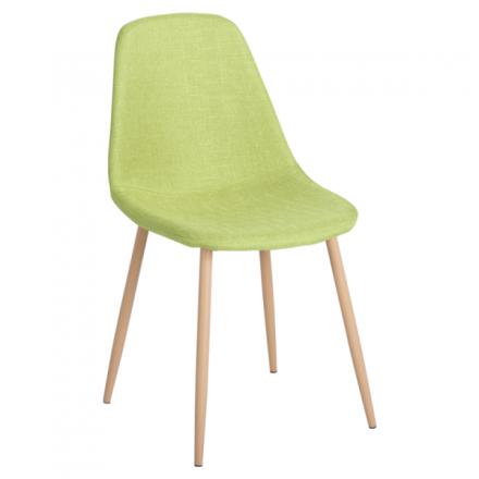 Трапезен стол-511 S зелен