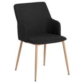 Трапезен стол-512 черен