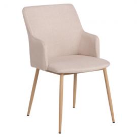 Трапезен стол-512 телесен