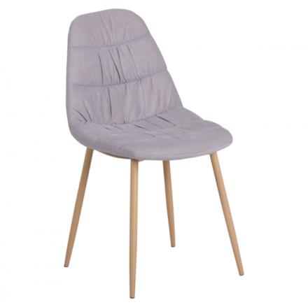 Трапезен стол-513 сив