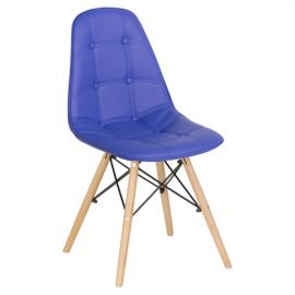 Трапезен стол-9962 син