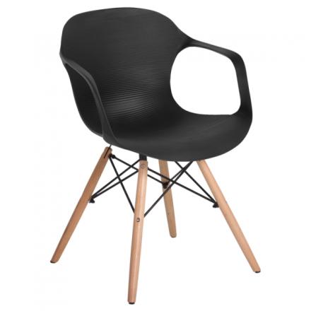 Трапезен стол-9964 черен