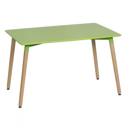 Трапезна маса Yasmin  – зелен