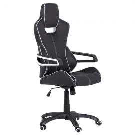 Офис стол 7513 – черен/бял