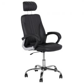 Офис стол-6158 черен