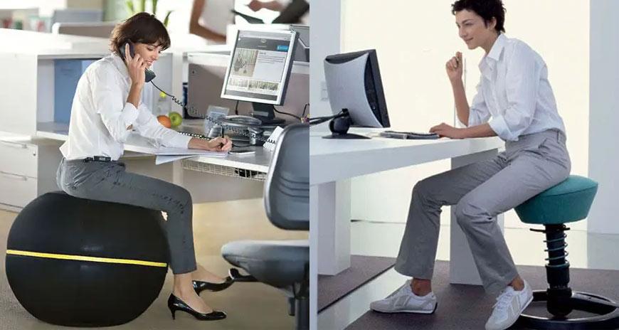 алтернативи на офис стола
