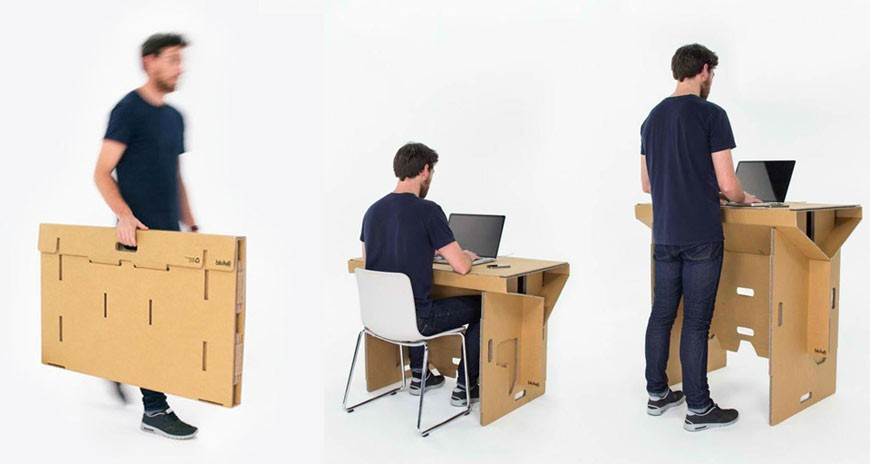 standup desk hack
