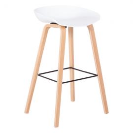 Бар стол – 3078 бял