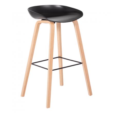 Бар стол – 3078 черен