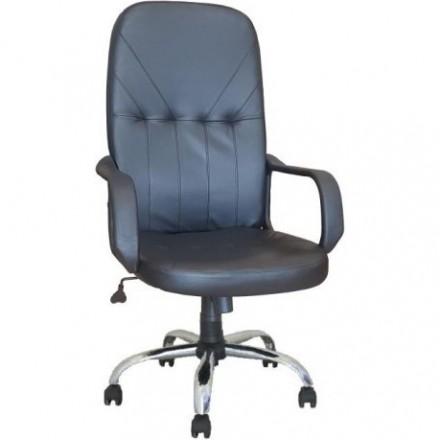 Офис стол- Megan Steel черен